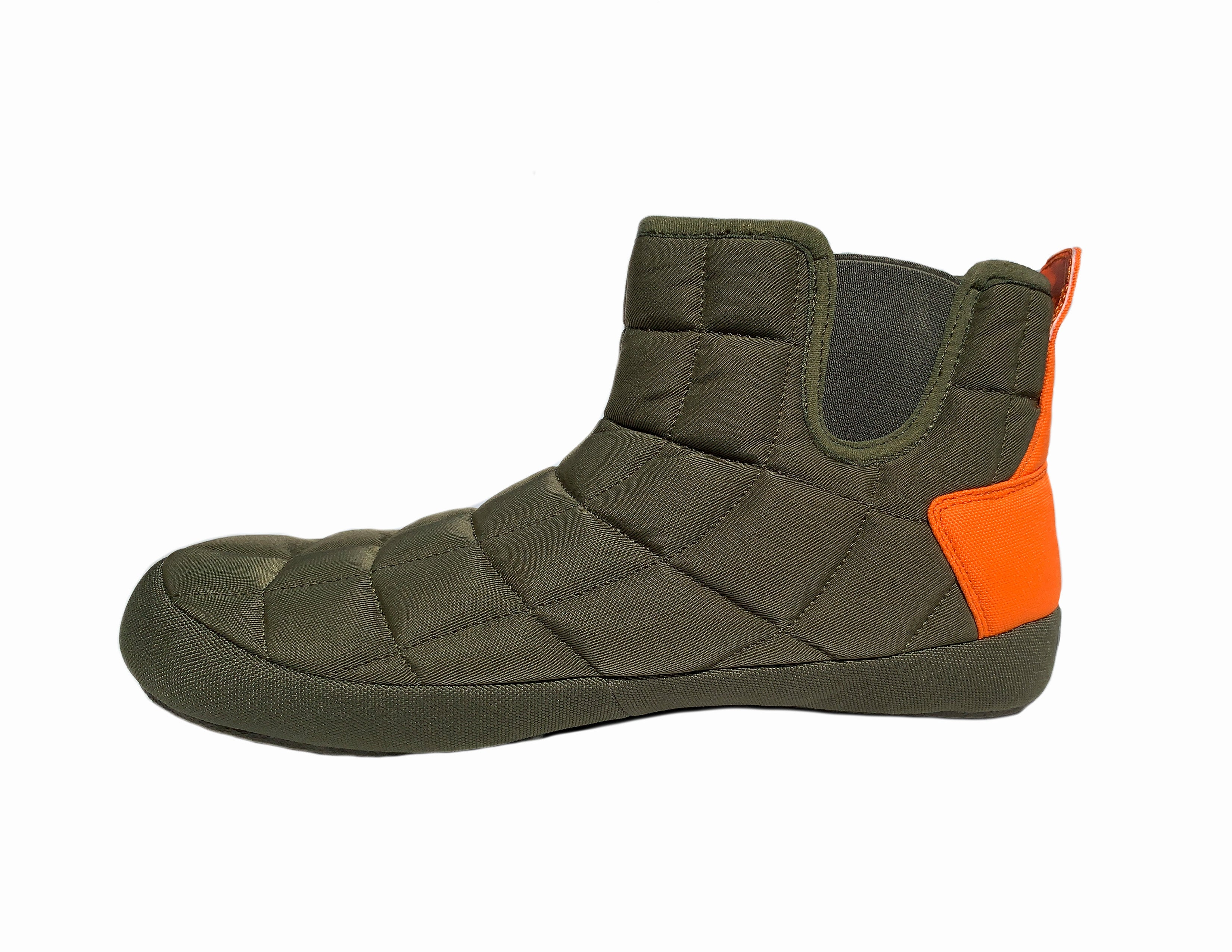 TORONTOES MENS OLIVE & ORANGE