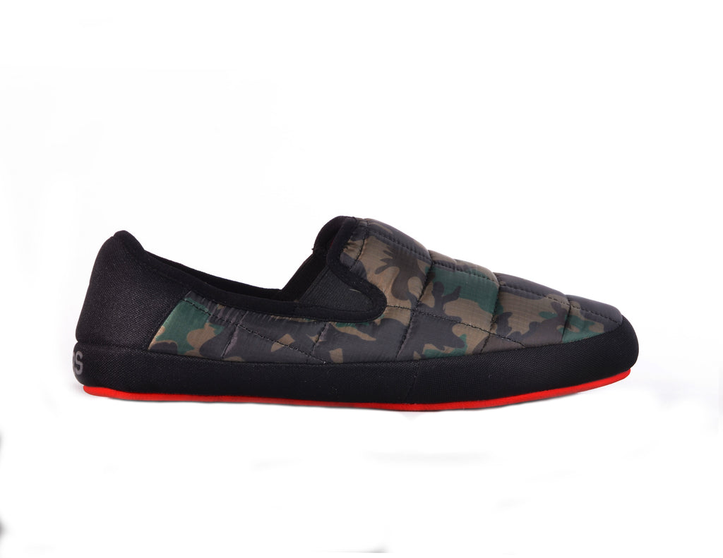 MALMOES MENS GREEN CAMO/BLACK
