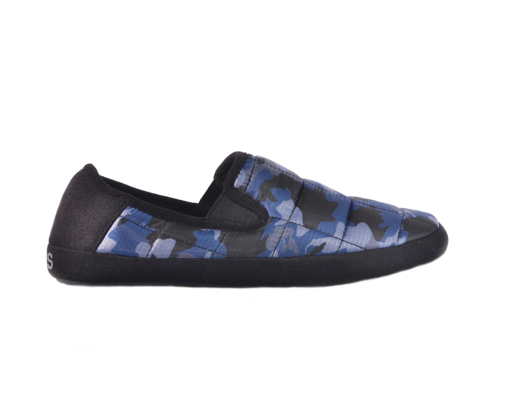 Coma Toes Mens Navy Cammo Slippers