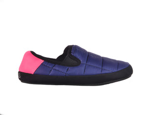 Coma Toes women's slippers cozy navy blue sneaker sole lounge shoes