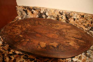 Oval  Cutting Boards- Solid Oak