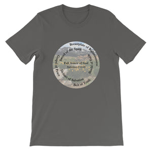 Short-Sleeve Unisex T-Shirt, Full Armor of God, Ephesians 6:10-18