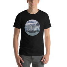 Load image into Gallery viewer, Short-Sleeve Unisex T-Shirt, I can do all things through Christ who strengthens me.