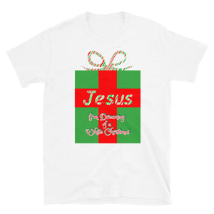 I'm Dreaming of a White Christmas, Jesus Shirt