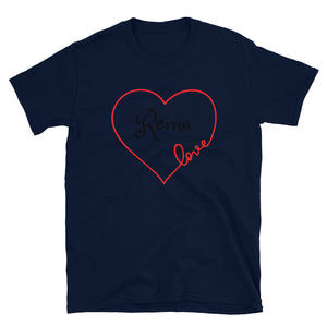 Love Collection. Short-Sleeve Unisex T-Shirt. Customizable Text.