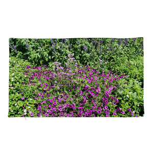 OFOX Premium Pillow Case with Purple Flowers