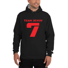 Load image into Gallery viewer, Team Jesus, a Champion Hoodie.  Classic Vintage/Faded Text