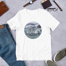 Load image into Gallery viewer, Short-Sleeve Unisex T-Shirt, I can do all things through Christ who strengthens me. Philippians 4:13 Shirt