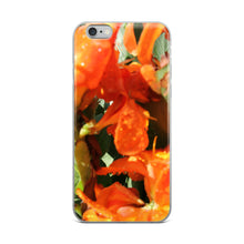 Load image into Gallery viewer, Tropical Orange Flower iPhone Case