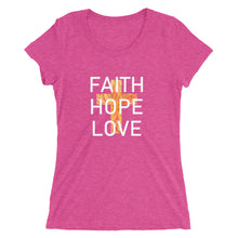 Load image into Gallery viewer, Faith Hope Love Collection Shirt. Sizes run small.