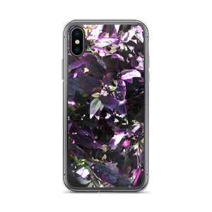 Purple Flower of the Garden iPhone Case