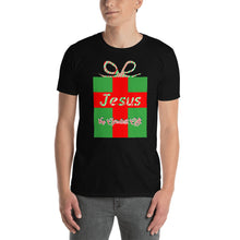 Load image into Gallery viewer, Jesus the Greatest Gift Christmas Shirt. Short-Sleeve Unisex T-Shirt
