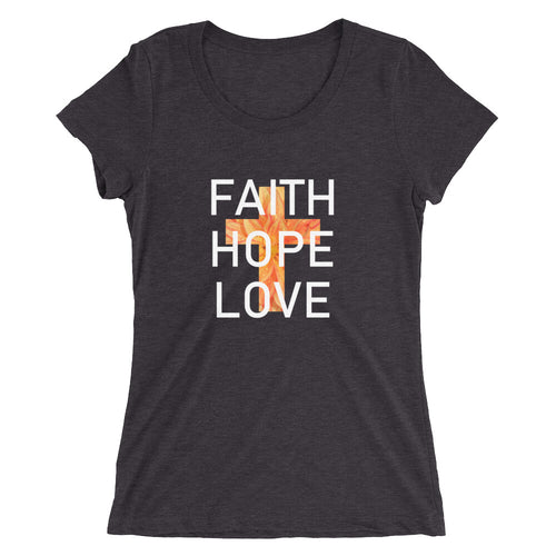 Faith Hope Love Collection Shirt. Sizes run small.