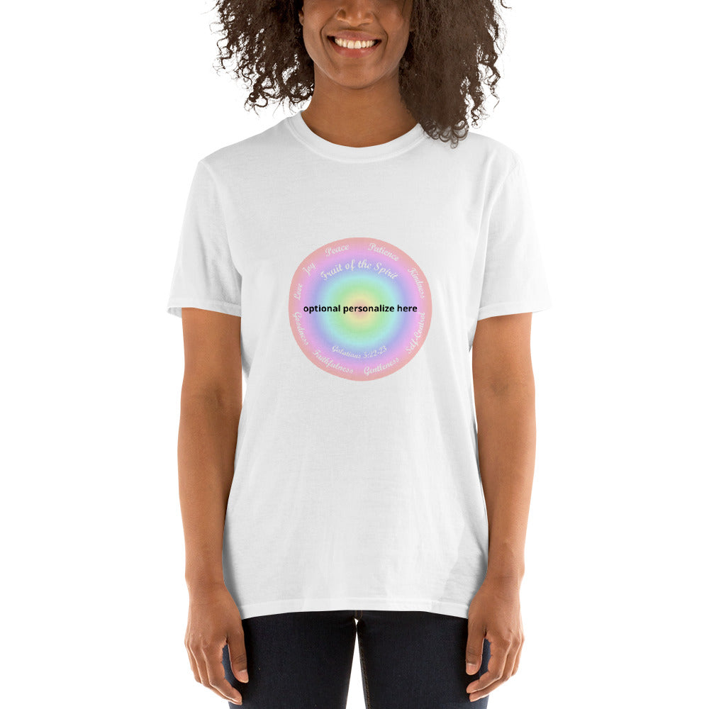 Fruit of the Spirit Pastel Shirt. Bible Verse Galatians 5:22-23, T-Shirt