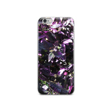 Load image into Gallery viewer, Purple Flower of the Garden iPhone Case