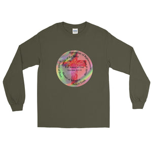 Long Sleeve T-Shirt, Cross - The Whole Armor of God, Ephesians 6:10-18