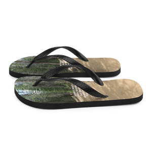 Flip-Flops, A man's heart plans his way,  but the Lord directs his steps. Proverbs 16:9 Flip Flops