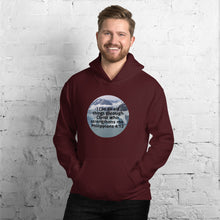 Load image into Gallery viewer, Hooded Sweatshirt,  I can do all things through Christ who strengthens me. Philippians 4:13