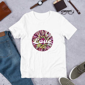 Short-Sleeve Unisex T-Shirt. Love Shirt, OFOX Originals !  Customization.