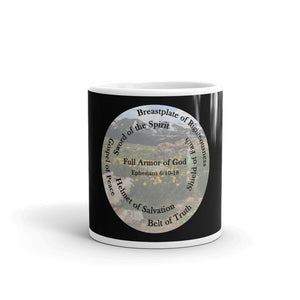 Mug, Whole Armor of God, Bible Verse Ephesians 6:10-18