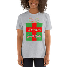 Load image into Gallery viewer, Jesus Secret Santa Christmas Shirt