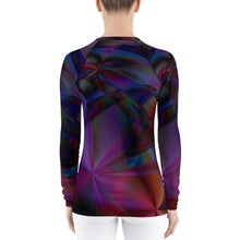 Load image into Gallery viewer, Stained Glass Women's Rash Guard