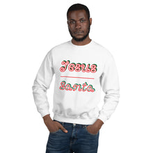 Load image into Gallery viewer, Jesus Santa Sweatshirt