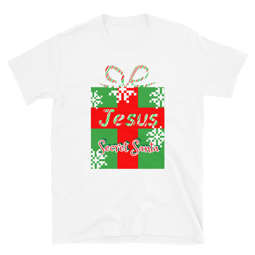 Jesus Secret Santa Christmas Shirt