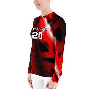 Women's Rash Guard, Nebraska-T-Shirt20 c