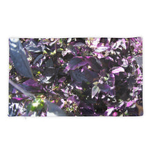 Load image into Gallery viewer, Purple Flower Pillow Case