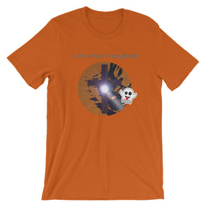 Christian Halloween Short-Sleeve. Afraid of no Ghost, Cross Jesus Shirt.