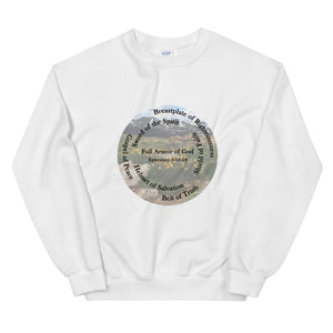 Sweatshirt, The Full Armor of God, Bible Verse Ephesians 6:11