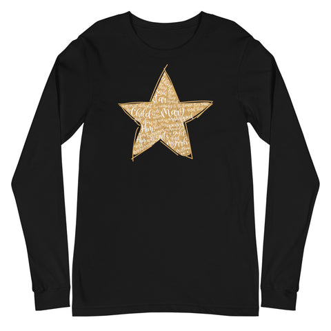 Christmas Star Matthew 2:10-11 Long Sleeve T-Shirt
