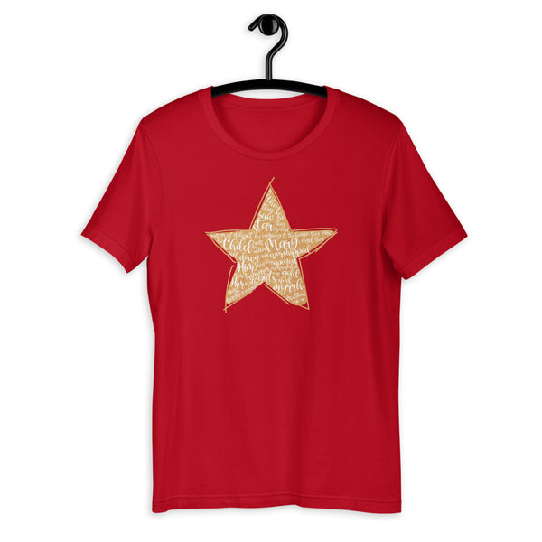 Christmas Star Matthew 2:10-11 T-Shirt