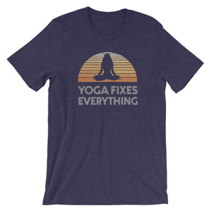 Yoga Fixes Everything Unisex T-Shirt