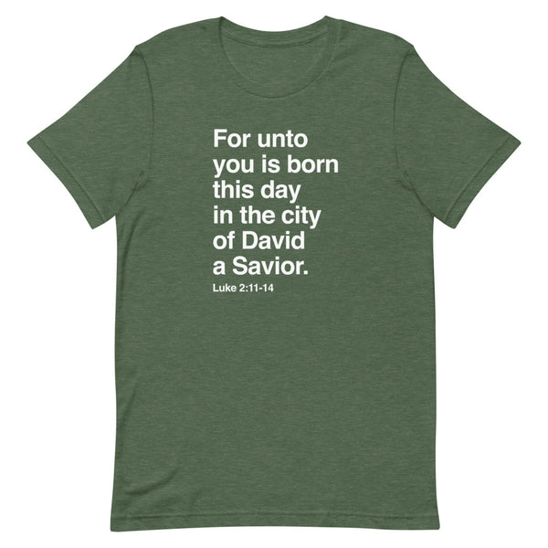A Savior is Born T-Shirt