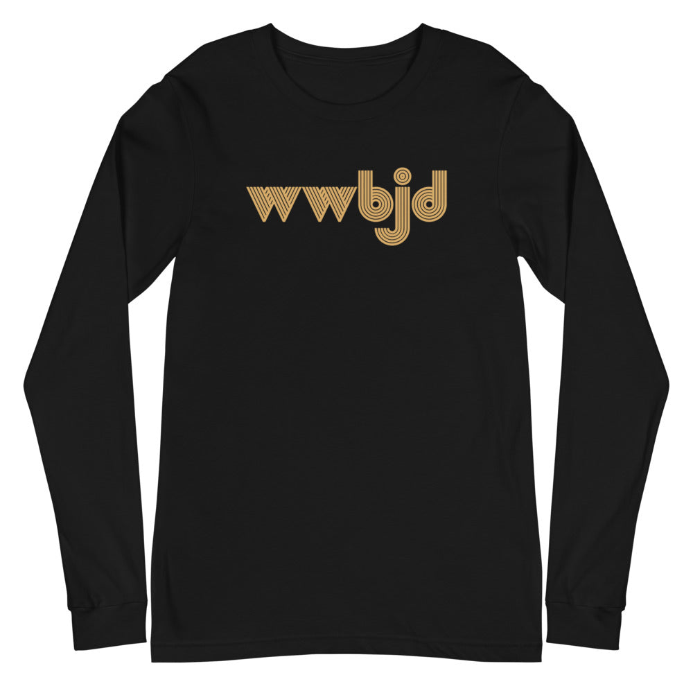 WWBJD (What Would Baby Jesus Do) Long Sleeve T-Shirt