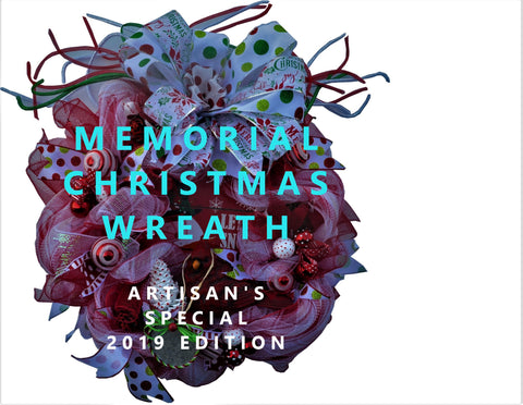 MEMORIAL Wreath CARDINAL Christmas Traditional Special Edition Picture Frame for Loved One