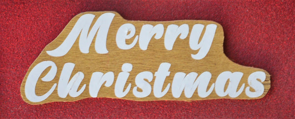 RED TRUCK SIGN CHRISTMAS Large HANDMADE Wood 19 inches x 10 inches variations on sign & tree