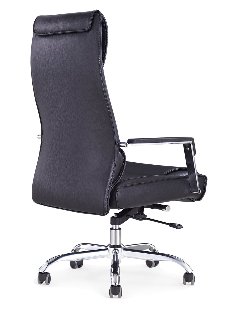 Sheldon High Back Modern Leather Office Chair