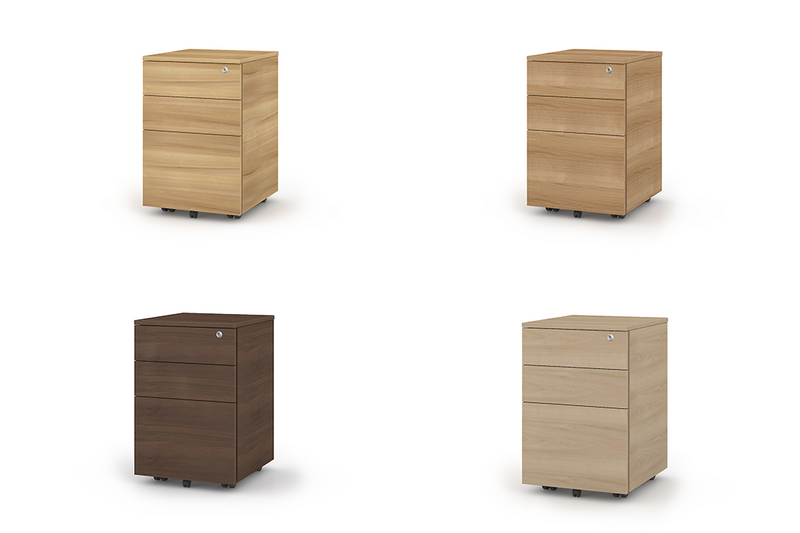 META Mobile Wood Cabinets