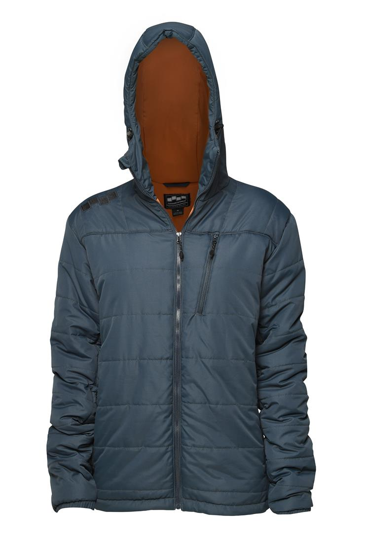 FOURSQUARE - Slate | Mens Insulated Mid-Layer Jacket