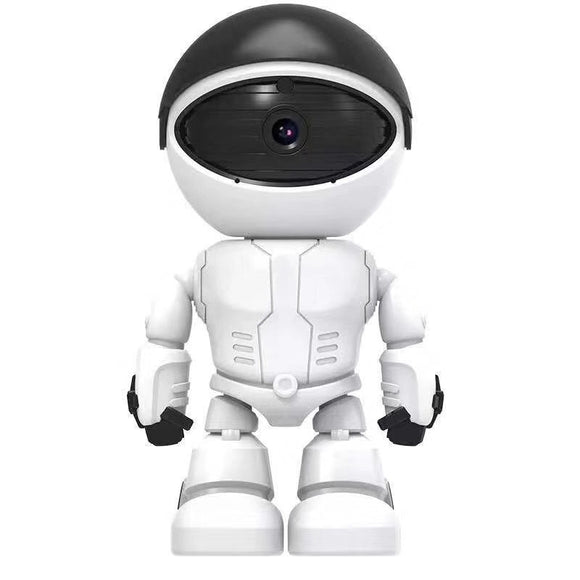 1080P Wifi Wireless Robot Camera 360 Degree IP Camera for Smart Home Security Monitor Burglar Alarm Baby Security