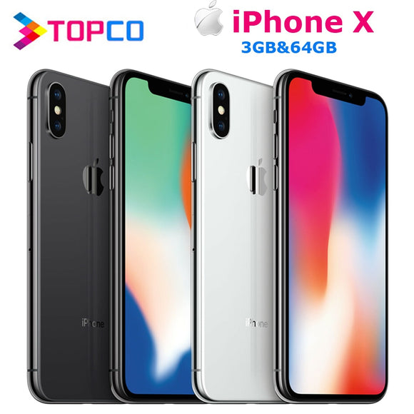 iPhone X Factory Unlocked Original Mobile Phone 4G LTE 5.8
