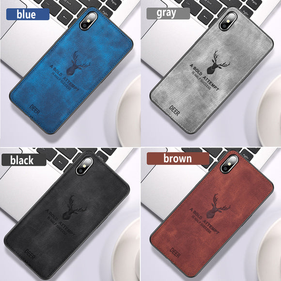 Cases For iPhone Cover fashion Cloth Texture Cases For iPhone