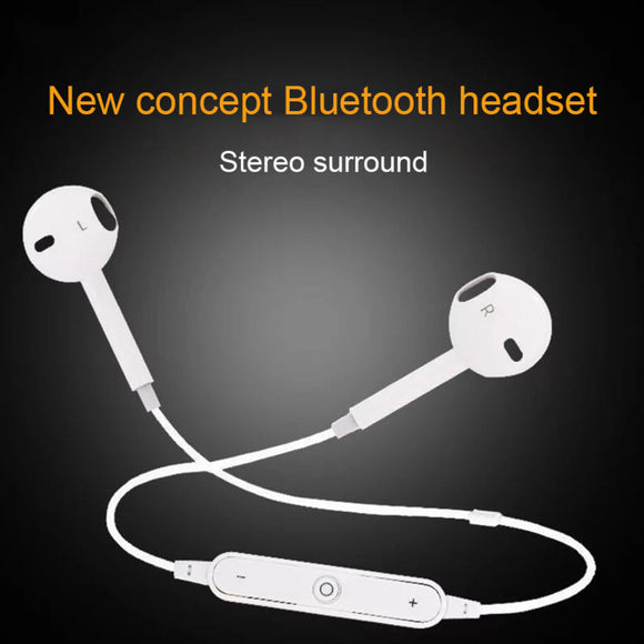 Bluetooth Wireless Headset Earbuds For Iphone Samsung