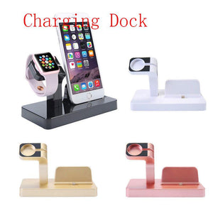 Group Vertical Vertical Charging Dock Station Charger Phone Stand for Apple Watch Series 4 3 2 1 for iPhone r20