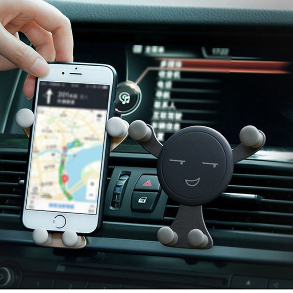 Professional Auto Dashboard Phone Holder Installation Vent Gravity
