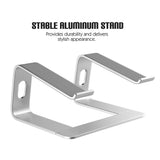 Aluminum Desktop Laptop Stand