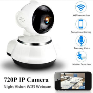 HD Wireless Home Security Wide Angle Lens Indoor Camera Night Vision